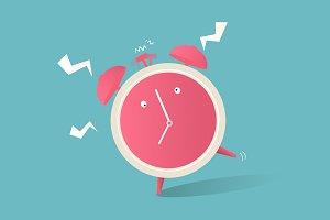 Illustration of clock icon