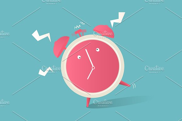 Illustration Of Clock Icon