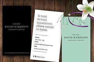 Minimalist business card-id52