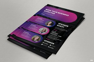 Conference Flyer Templates
