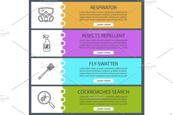 Pest Control Web Banner Template