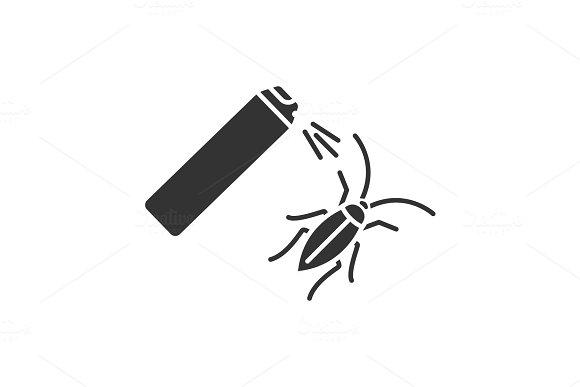 Roaches Bait Glyph Icon