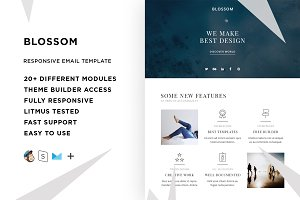 Blossom – Email template + Builder