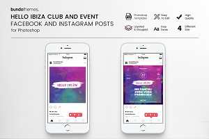 Hello Ibiza Club Social Media