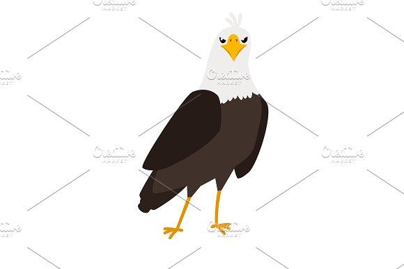 Eagle Cartoon Bird Icon