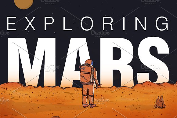exploration​​, colonization of Mars