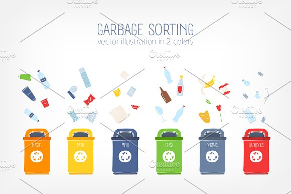 Garbage Sorting Concept