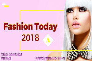 Fashion Today Powerpoint Templates