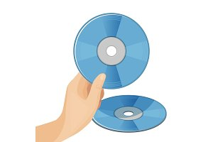 DVD digital video disc or versatile optical discs storage