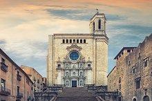 Catedral de Santa Maria Gerona, fron