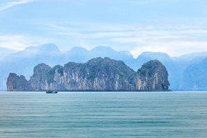 Halong Bay landscape, Vietnam