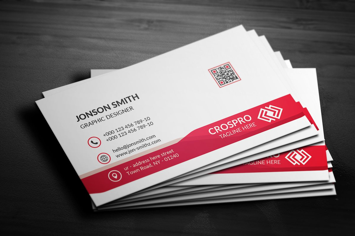 Business Card in Business Card Templates - product preview 1