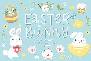 Easter Bunny - spring set