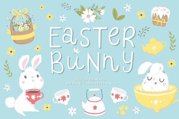 Easter Bunny Spring Set