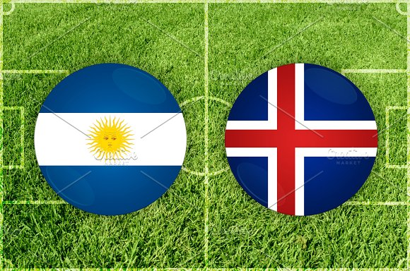 Argentina Vs Iceland Football Match