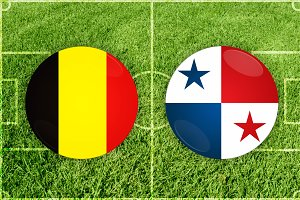 Belgium vs Panama football match