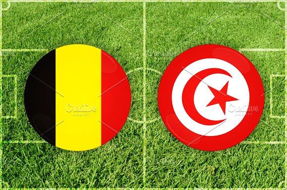 Belgium Vs Tunisia Football Match