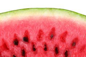 closeup of watermelon