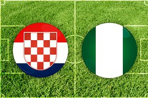 Croatia vs Nigeria football match