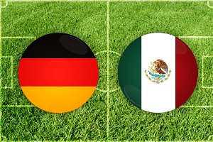 Germany vs Mexico football match