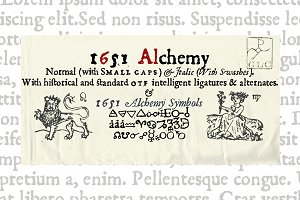 1651 Alchemy Family OTF