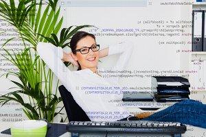 Relaxed Computer Programmer