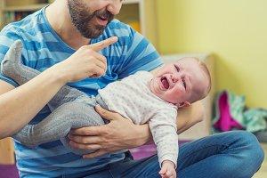 Parent with chlidren.