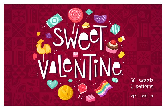Super SALE Valentine's Day Sweets S