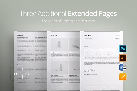 Three Additional Extended Pages