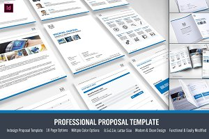Simple Proposal Template Indesign