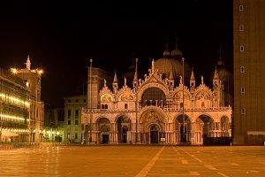 St Mark's At Night