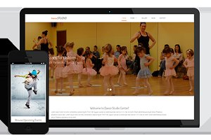 Dance Studio – Responsive Template