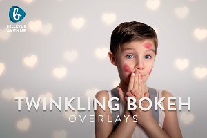 Twinkling Bokeh Overlays (Real)