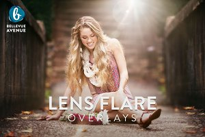 Lens Flare Overlays