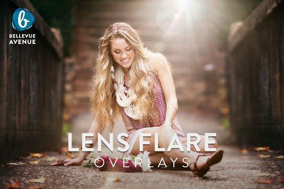 Lens Flare Overlays
