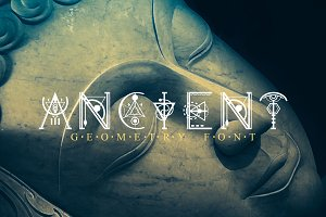 Ancient-Geometry font
