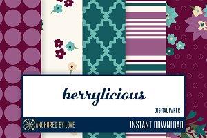 Berrylicious Digital Paper