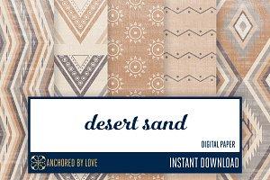 Desert Sand Digital Paper
