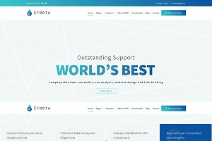 Etrota - SEO WordPress Theme