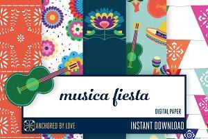 Musica Fiesta Digital Paper