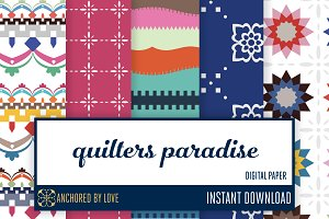 Quilters Paradise Digital Paper