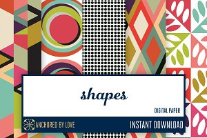 Shapes Digital Paper