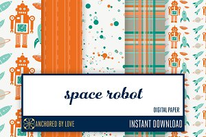 Space Robot Digital Paper