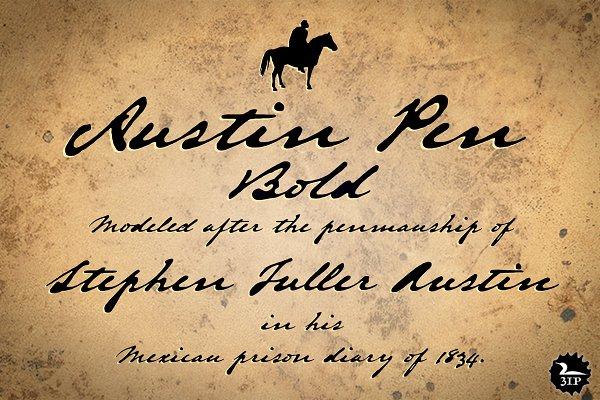Austin Pen Bold