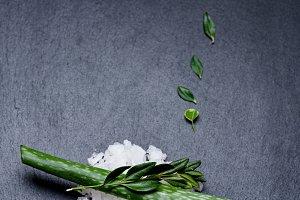 Cosmetic sea salt