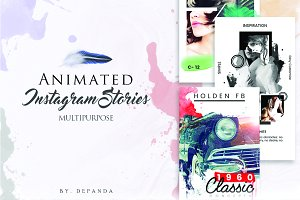 Multipurpose Animated Instagram