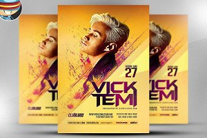Premium DJ Flyer Template 3