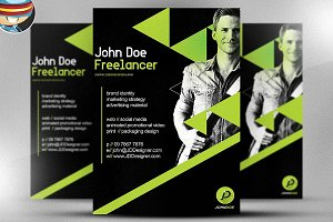 Freelancer Flyer Template