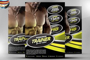 Personal Fitness Flyer Template