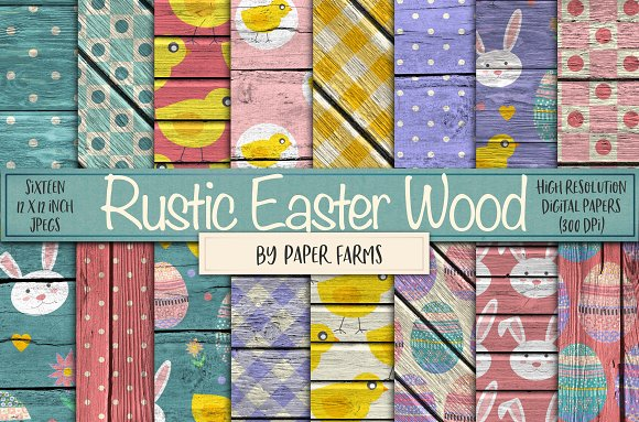 Rustic Easter Backgrounds